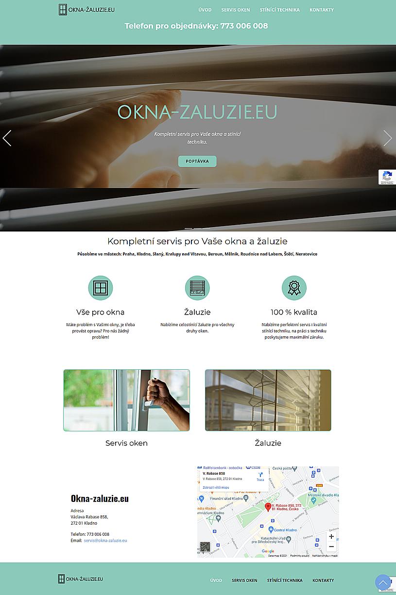 Internetové stránky pro OSVČ