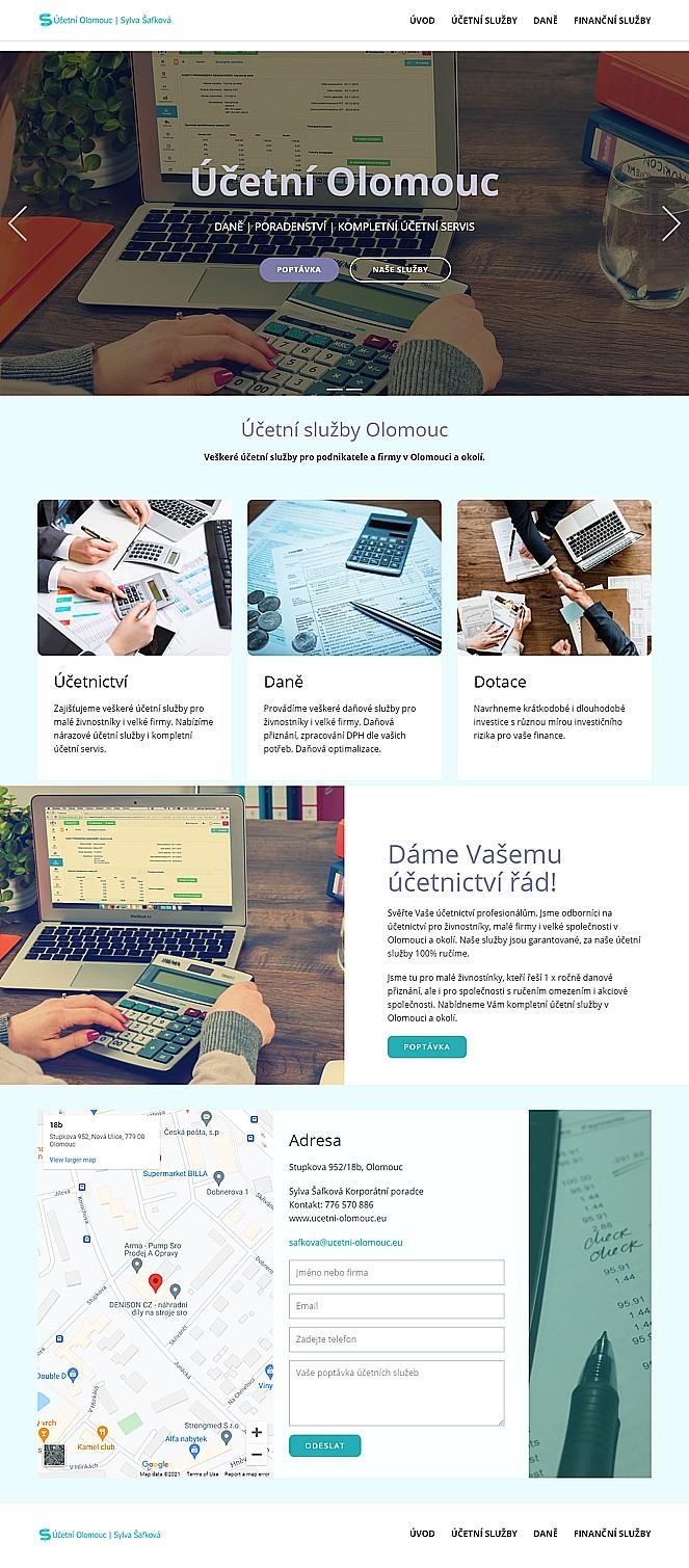 Web pro účetní